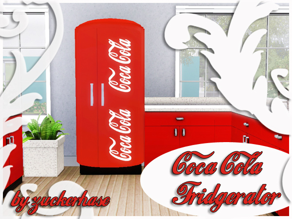 retro refridgerator coca cola. Black Bedroom Furniture Sets. Home Design Ideas