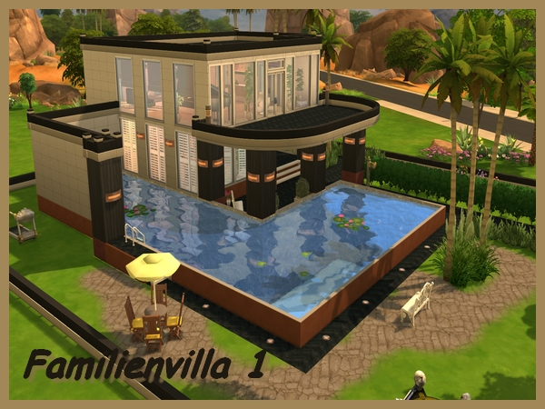 Die sims 4 familienvilla 1 welcome to akisima free downloads with - Sims 3 babyzimmer ...
