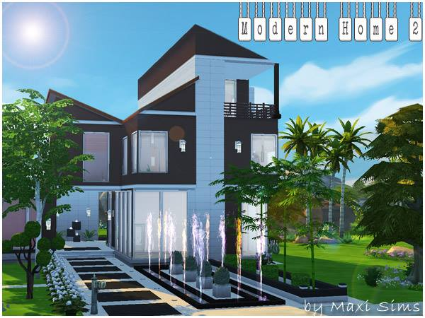 "Die Sims 4 "" Modern Home 2 ""  Welcome to AKISIMA – free ..."