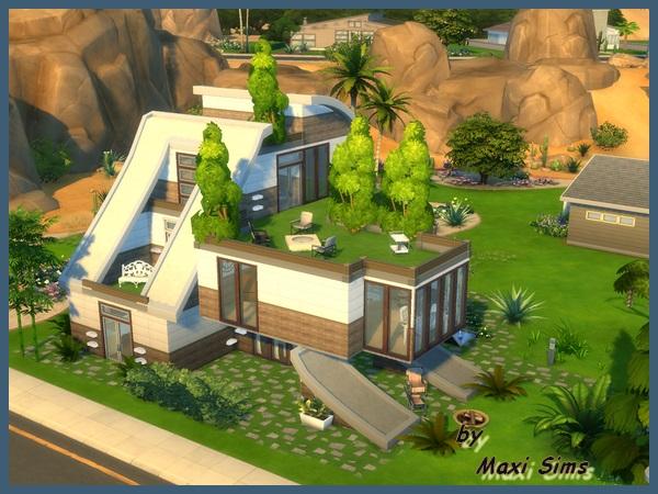 Die Sims 4 U201c Modern Home 5 U201e