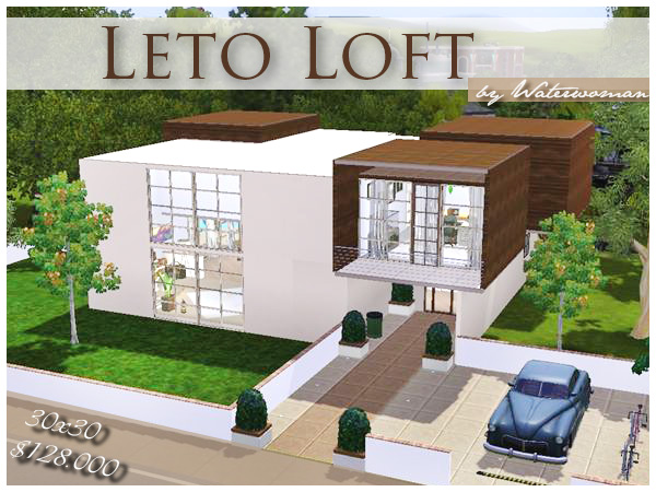 leto loft | welcome to akisima ? free downloads with <3 - Sims 3 Wohnzimmer Modern
