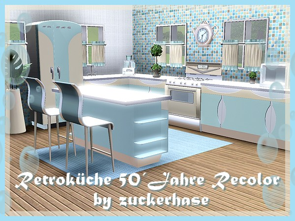 Retro Küche retroküche in blau welcome to akisima free downloads with 3